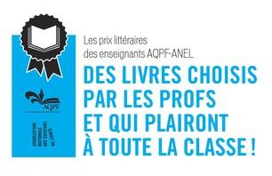 Les prix littéraires ANEL-AQPF 2012