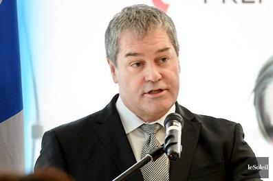 Le ministre Bolduc