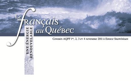 Congrès de l'AQPF 2011