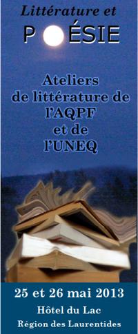 Ateliers de littérature 2013